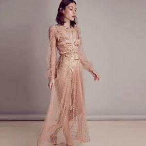 FL&L All That Glitter maxi dress size XS